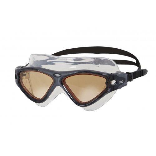 zoggs Schwimmbrille Vision Mask | L-XL | Black-Smoke